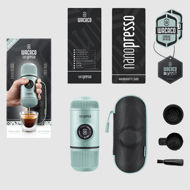 Billede af Wacaco Nanopresso Elements rejse espressobrygger med lynlås etui