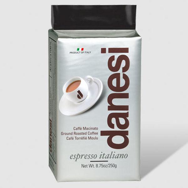 Billede af 3 måneders gavekort - Doppio Danesi Italiensk formalet kaffe 4x250g