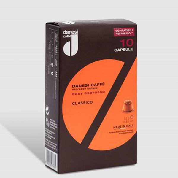 Picture of 3 Month Subscription - Danesi Caffè Classic 50 coffee capsules