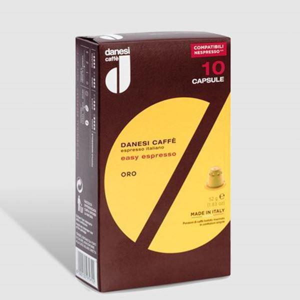 Billede af Gavekort på 3 måneders abonnement - Danesi Caffè Oro 50 kaffekapsler