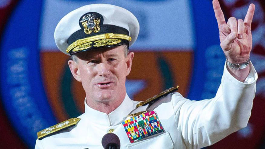 University of Texas at Austin 2014 - Admiral William H. McRaven (YouTube)