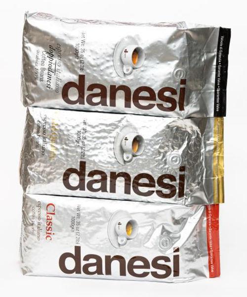 Billede af 3 Month Subscription - Danesi Sampler Italian Coffee Beans 3x1kg bags